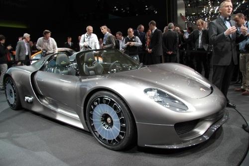 Porsche Spyder Car