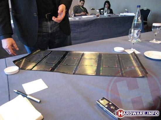 HP's Flexible Electronic Display