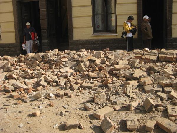 Chile Earthquake Image