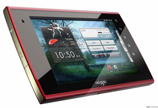Aigo's New Tablet N700 – AigoPad : Android 2.1, Tegra 2 & 1080p HD