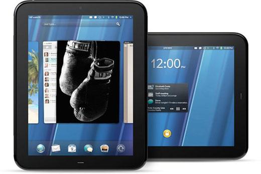 HP TouchPad vs iPad vs Xoom vs PlayBook Tablet