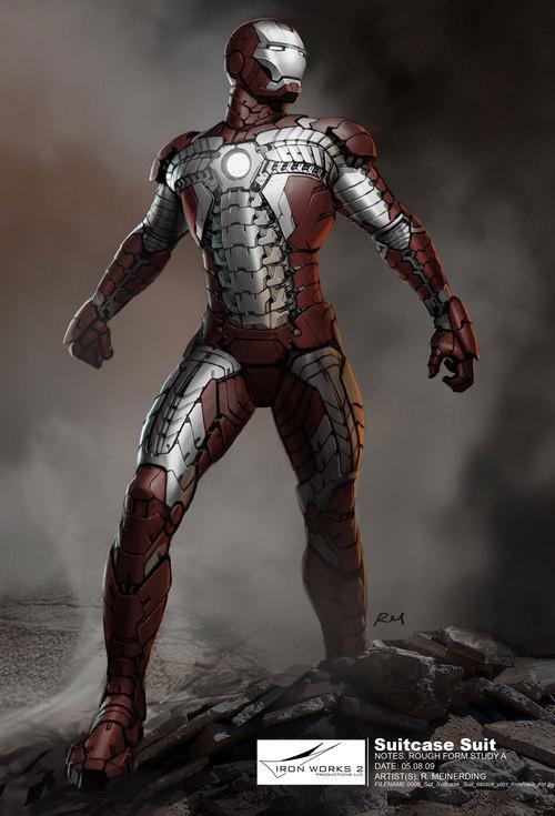 Design secrets of Iron Man 2: Suitcase  armor, Whiplash and crazy improv!