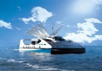 Creative Solar Powered Ferry Design