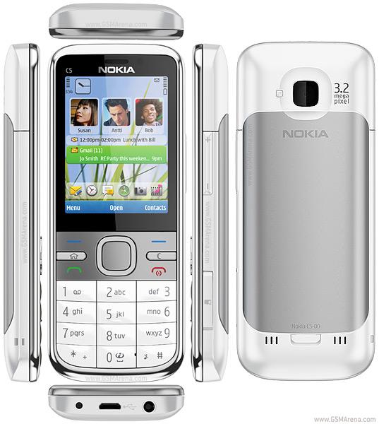 New Nokia C5 smartphone