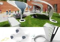 School Powering Solar Shade System