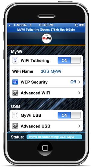 MyWi 4.0 brings Tether Jailbroken iPhone 2G/3G/3GS/4 & iPad 3.1.2 on iOS 4