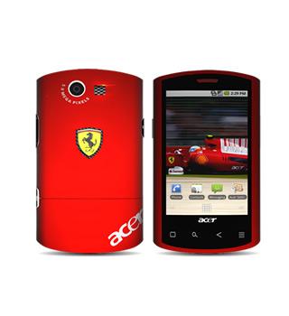 Acer Races in Liquid E Ferrari Special Edition Smartphone