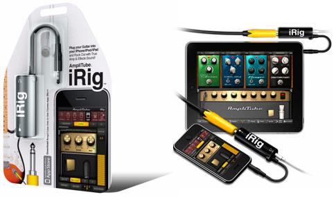 AmpliTube iRig iPhone interface adapter