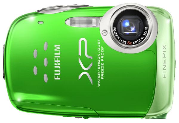 Fujifilm's FinePix XP10 compact camera