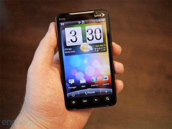 How to change HTC EVO 4G