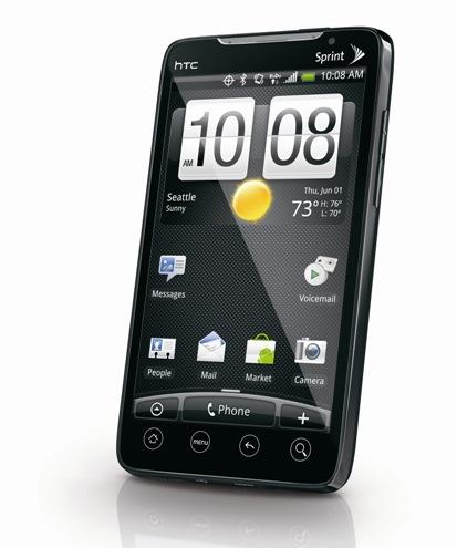 HTC Evo Touch Sensor Lag