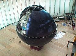 Mitsubishi OLED Globe at Science Museum
