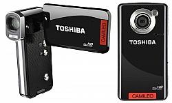 Toshiba's New Camileo B10 And P100 Mini Camcorders