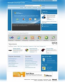 Microsoft Redesign Download Center