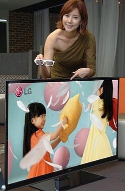 LG's New Nano LED backlit LW9800, Next Generation CINEMA 3D HDTVs