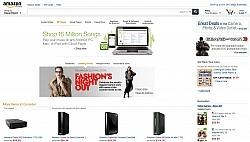 Amazon.com is Testing New Web Design