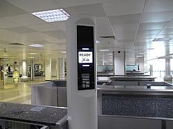 AOptix e-Gate For Airport Security
