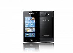 Samsung's Windows Mango Phone Omnia W