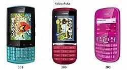 Nokia Announces Asha Lineup
