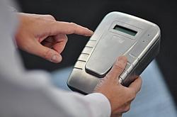 World's First Portable Hand-Held Fingerprint Drug Detection Device