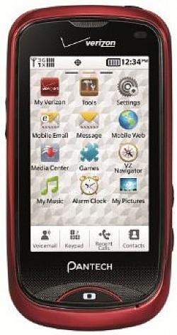 Pantech Hotshot Phone By Verizon Wireless
