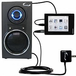 10 Watt Battery Powered Portable Amplified Audio Speaker