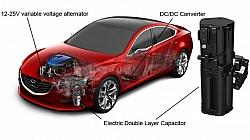 Mazda's i-ELOOP Designed Capacitor-based Regenerative Braking System