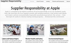 Apple Reveals Suppliers List, Releases Supplier Responsibility Progress Report