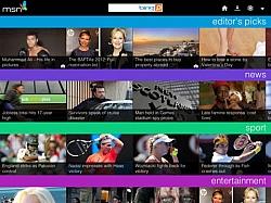 MSN UK iPad Application By Microsoft: Looks Like Pulse App