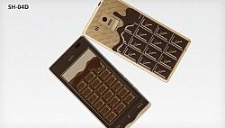 Sharp Q-Pot.Phone SH-04D Chocolate Phone For Valentine's Day