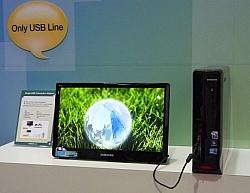 Samsung Develops USB-powered LCD PC Monitor