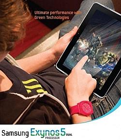 Samsung's Exynos 5 Ad Features A Samsung Galaxy Tab 11.6?