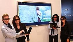 Samsung's new 65-inch 3D LED TV