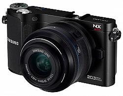 Samsung NX200 Digital SLR Camera With 18-55mm Lens