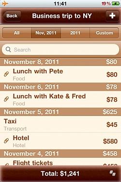 ExpensePad – Premium Expenses Book Keeping App For iOS [Free]