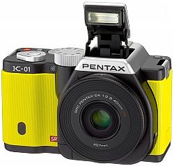 Pentax K-01: The First K-Mount Mirrorless System Digital Camera