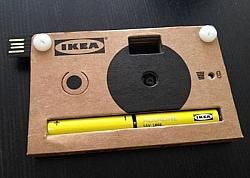IKEA Introduces Cardboard Digital Camera