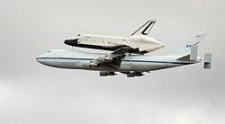 Space Shuttle Enterprise On A Piggyback Ride
