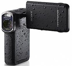 Sony HDR-GW77V Waterproof 60p HD Handycam With 20.4-MP Sensor