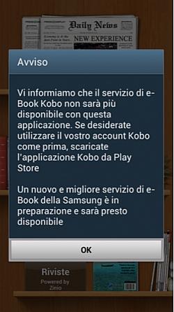 Samsung May Discontinue Kobo E-books