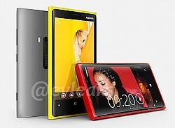 Nokia Lumia 920 PureView And Lumia 820 Image Leaked