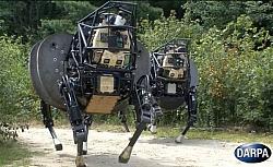 DARPA's Four-Legged AlphaDog Robot Can Walk 20 Miles Non-Stop Carrying 400 Pounds