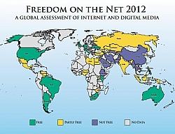 Estonia Tops The List Of Internet Freedom