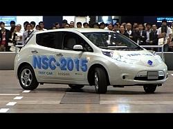 An Autonomous Electric Car From Nissan – NSC-2015