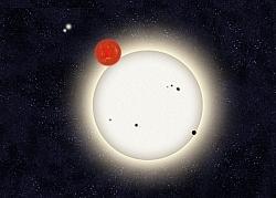 Amateur Astrnonomers Found A Planet With Four Suns