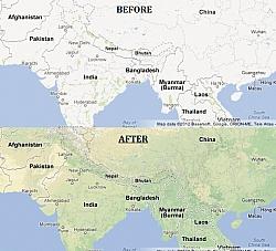 Google Maps Gains More Visual Terrain Improvements