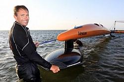 Australian SailboatPilot Sets A New World Speed Sailing Record Of 110 kmph