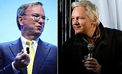 WikiLeaks Publishes Secret Conversations Between Julian Assange And Eric Schmidt