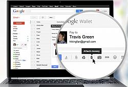 Send Money As Gmail Attachment Through Google Wallet