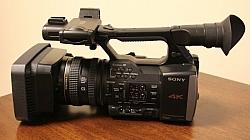 Sony Unveils 4K FRD-AX1 Camcorder
